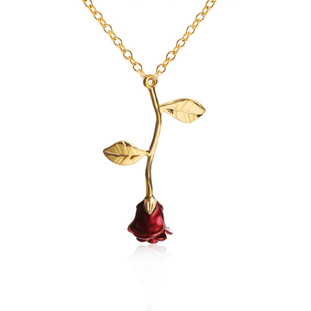 Enchanted Rose Necklace