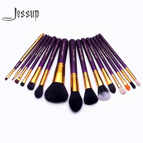 15pcs Makeup Brushes Set - Red Beauty Boutique
