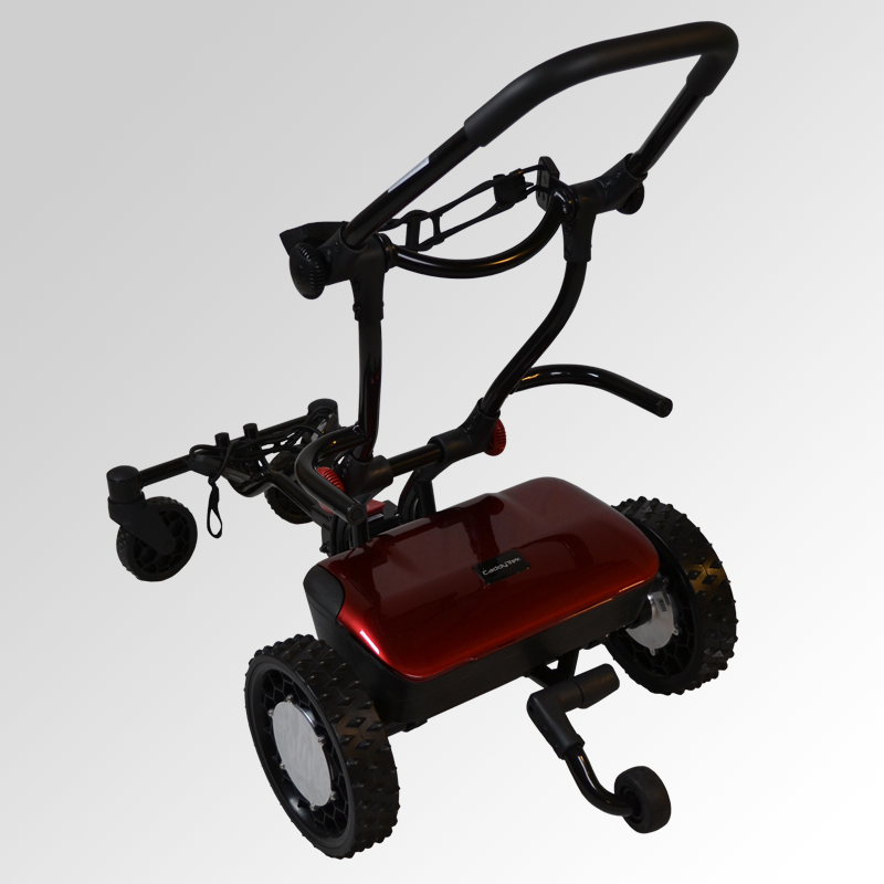 CaddyTrek R2 Follow/Remote Controlled Electric Golf Push Cart - Golf Caddy Pros
