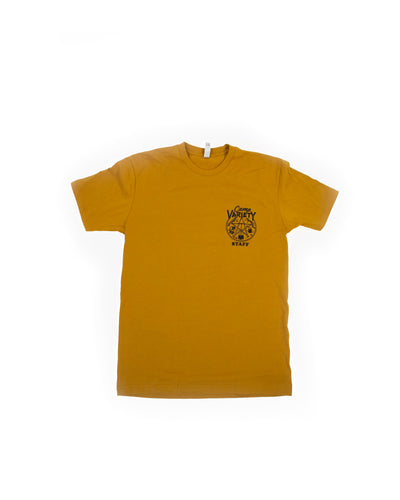 Camp Variety Gold Tee