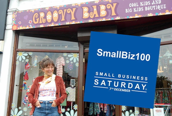 Groovy Baby Unveiled As One Of The UK's Top  'Small Biz 100' By Small Business Saturday