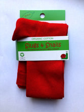 SLUGS AND SNAILS Cherry Red Tights