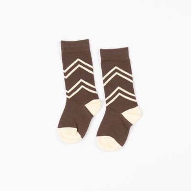 Alba of Denmark ANNIE KNEE SOCKS - CHOCOLATE