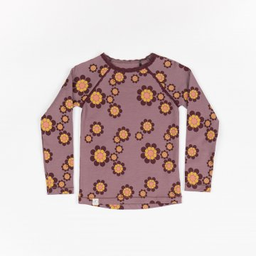 ALBA OF DENMARK Ghita Blouse - FLINT BIG FLOWER