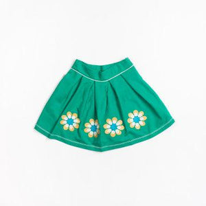 Alba of Denmark NELLY SKIRT - PEPPER GREEN