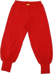 MORE THAN A FLING Poppy Red Baggy Pants