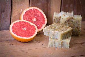 BEAN & BOY Grapefruit & Calendula Soap - Certified 100% Natural Pure Vegan Handmade Soap (Cold Process)