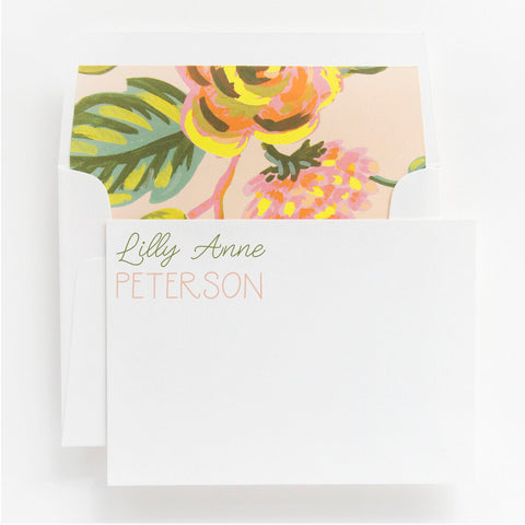 personal stationery | 16-L230
