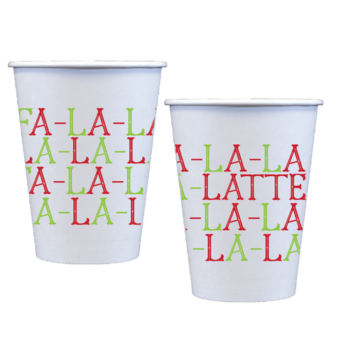 Coffee Cups + Sleeves | Fa La Latte