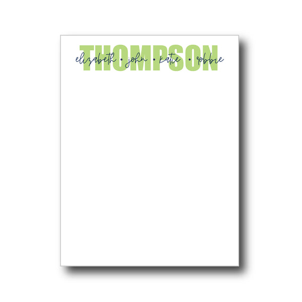 notepad | white paper | 20