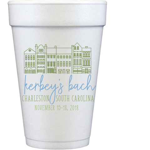 styrofoam cups | charleston rainbow row