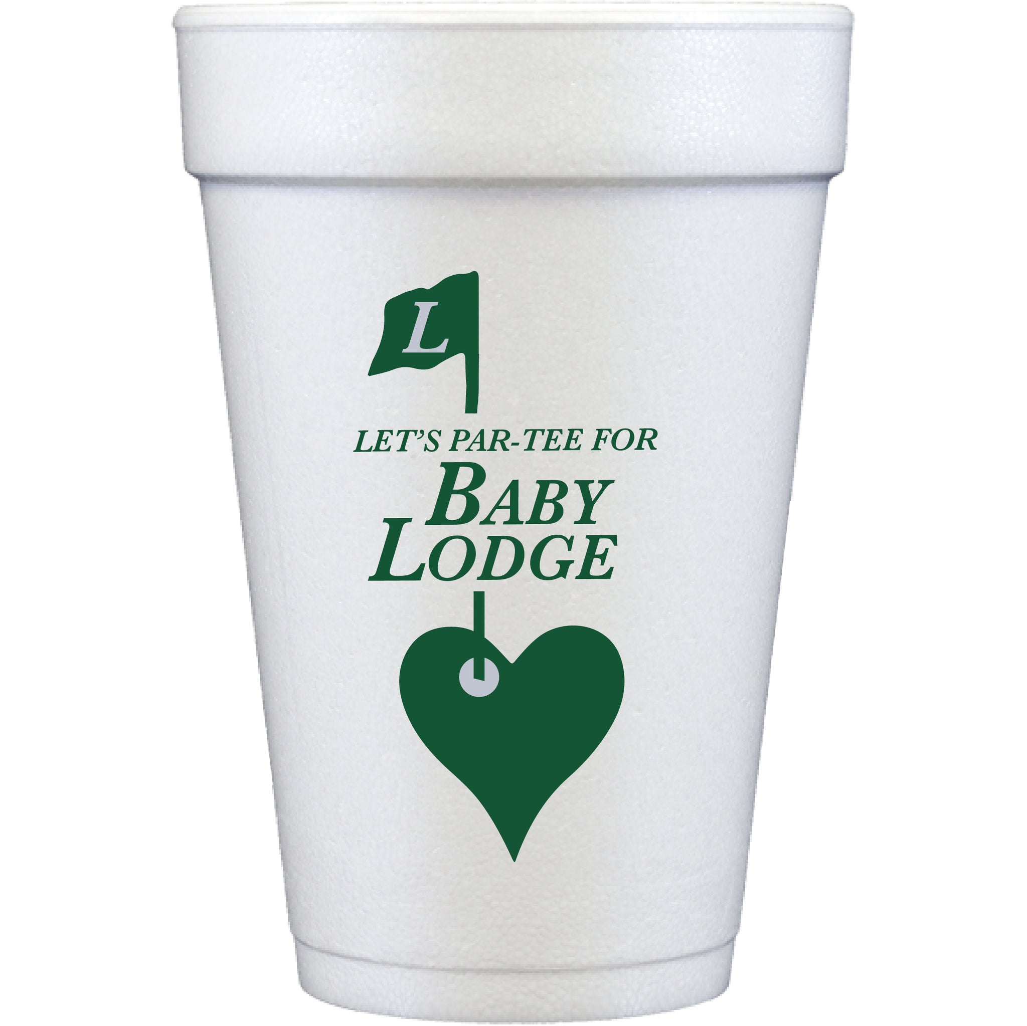 styrofoam cups | baby partee