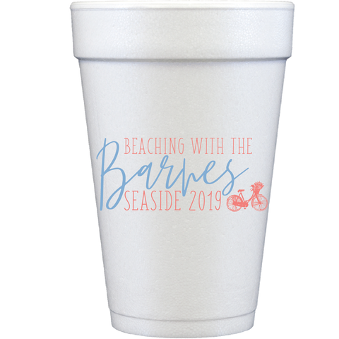 styrofoam cups | beaching