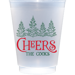 shatterproof frosted flex | christmas tree cheers