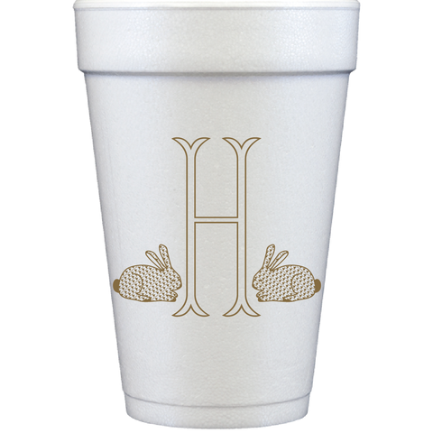 styrofoam cups |  chic bunnies