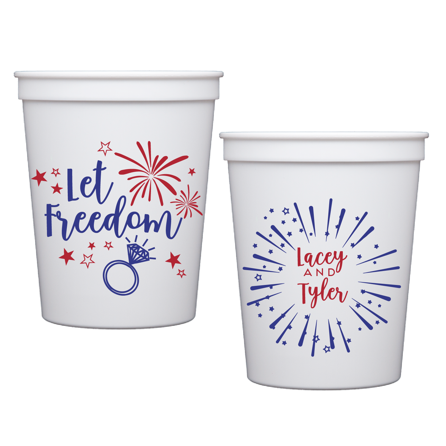 stadium cups | let freedom ring