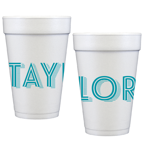 styrofoam cups | line shadow