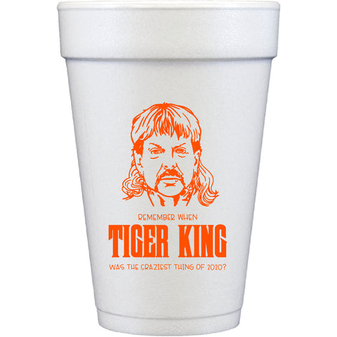 styrofoam cups | tiger king