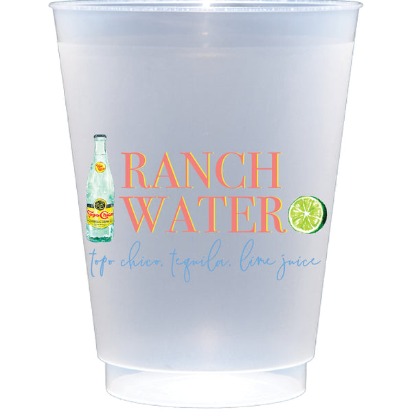 shatterproof frosted flex | ranch water