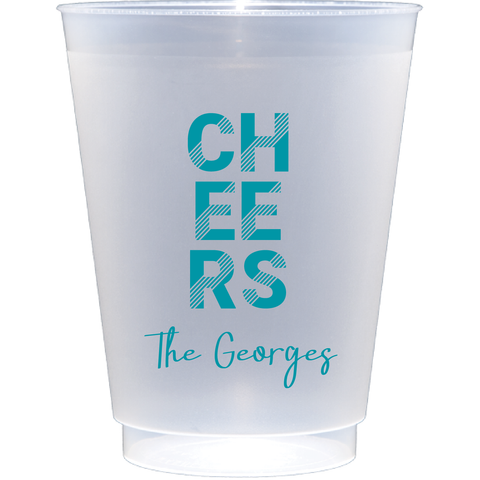 shatterproof frosted flex | retro cheers