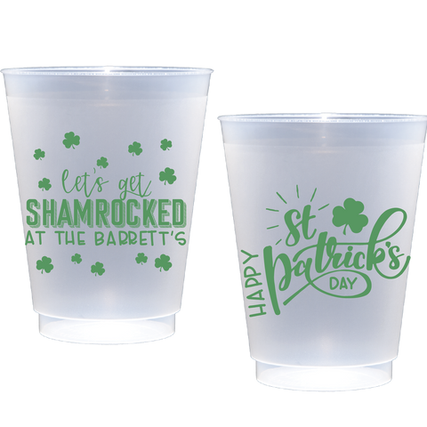 shatterproof frosted flex | shamrocked