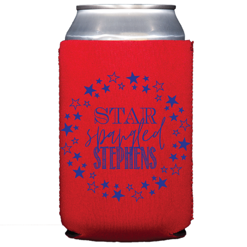koozie | star spangled