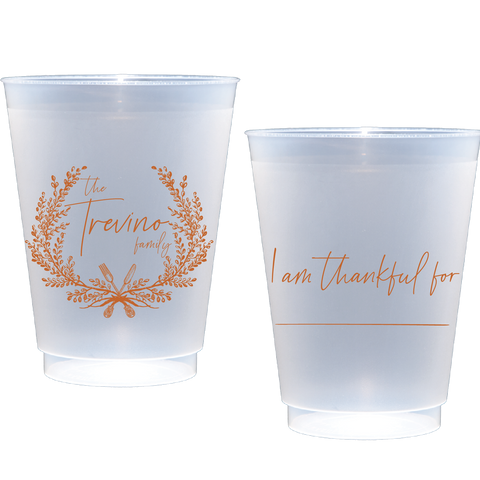 shatterproof frosted flex | thankful