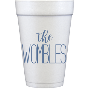 styrofoam cups | the name