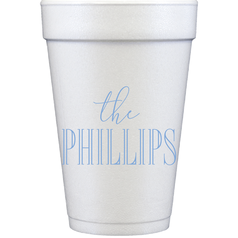 styrofoam cups | the name 2