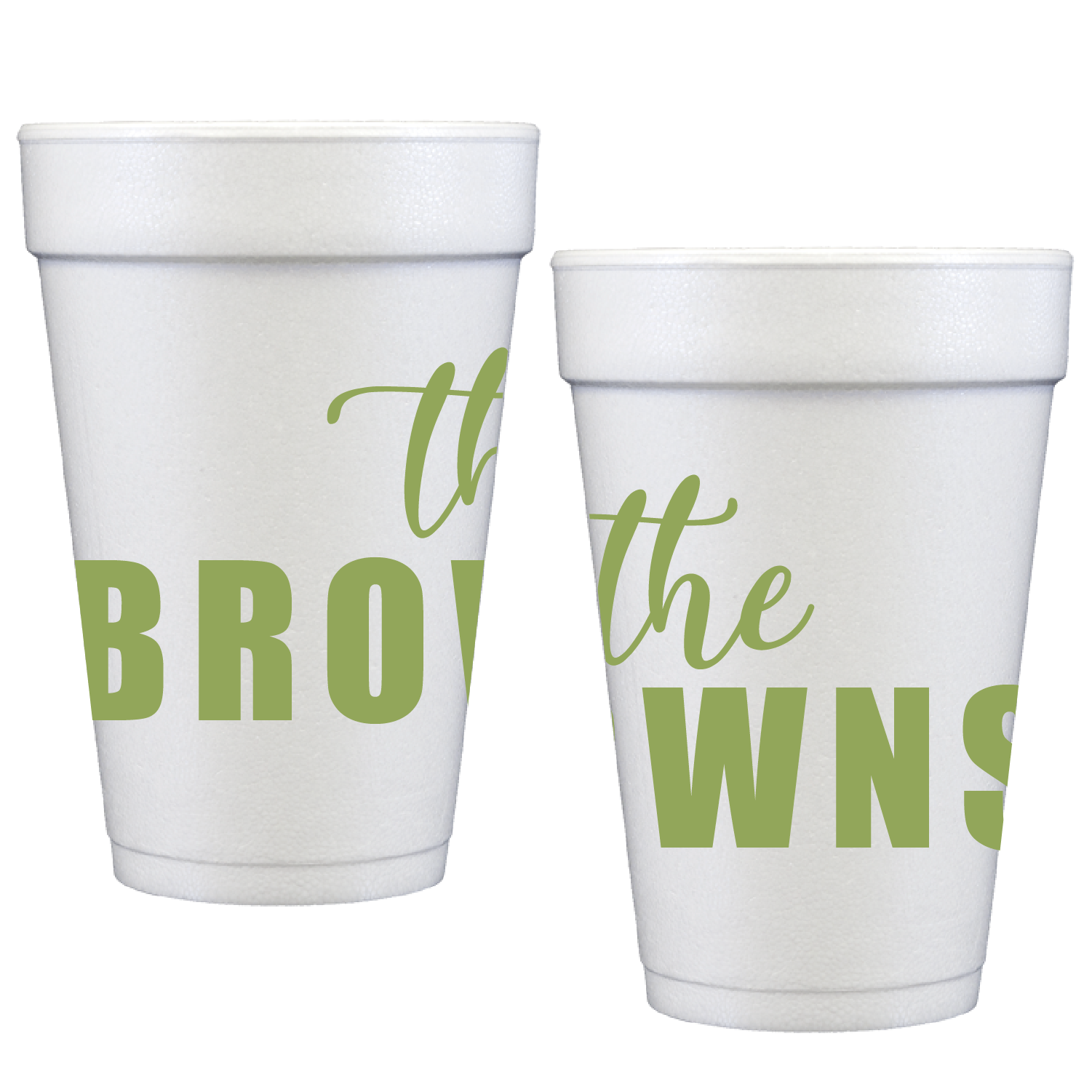 styrofoam cups | the name 8