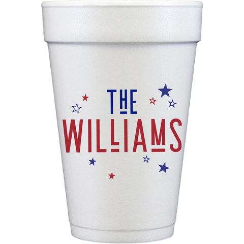 styrofoam cups | the name stars