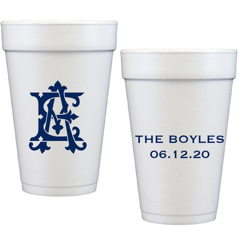 styrofoam cups | wedding m31
