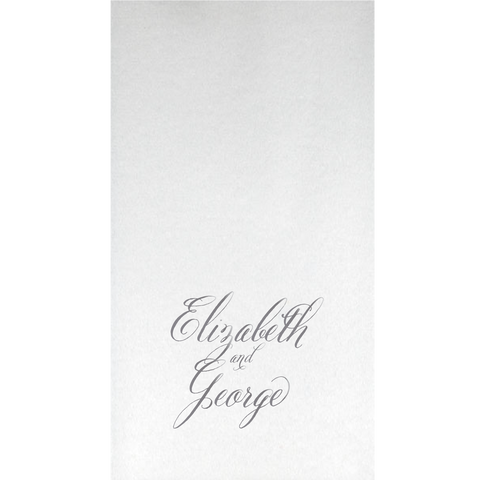 guest towels | wedding calligraphy