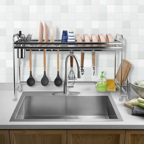 over sink drying rack stainless steel shoplexcity