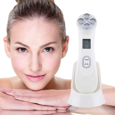 Facial Electroporation Radio Frequency Massager - Shoplexcity