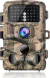 Waterproof Trail Camera 16MP 1080P 3 Infrared Sensors Night Vision - Shoplexcity