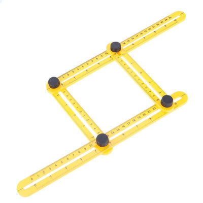ProtractorTech Multi Angle Template Ruler - Shoplexcity