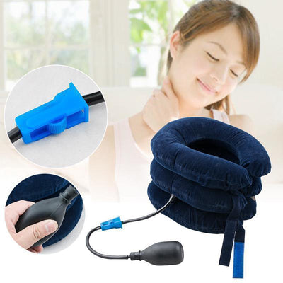 Comfy Cervical Neck Traction Inflatable Collar