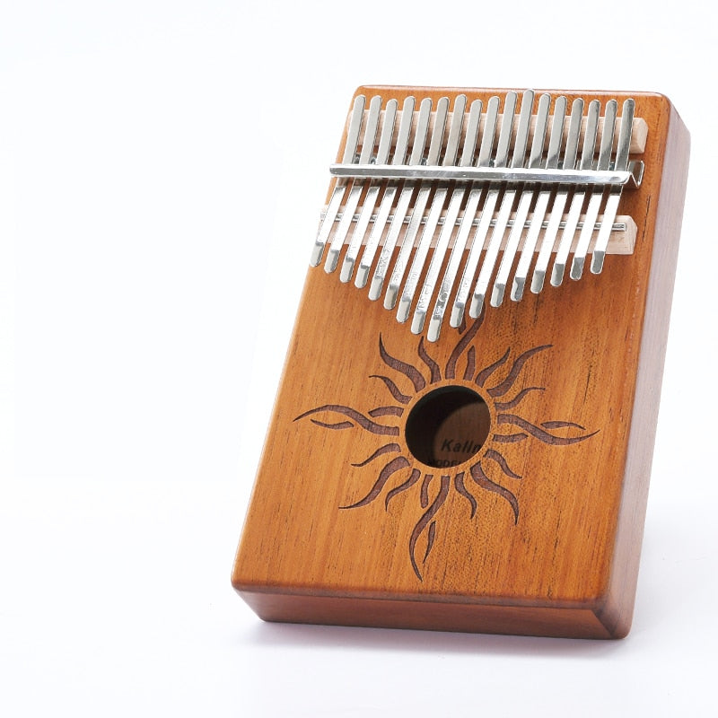 Mosaic Kalimba Thumb Piano High-Quality Wood - Shoplexcity