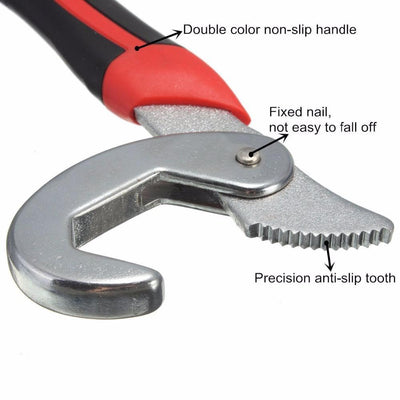 Universal Wrench Set Snap and Grip