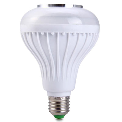 LED Light Bulb with Integrated Bluetooth Speaker