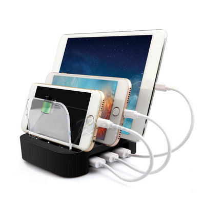 Universal 3 Port USB Charging Station - Shoplexcity
