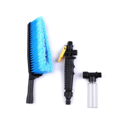 Retractable Long Handle Car Wash Brush Water Foam Flow Auto Cleaning Brushes Care Washer Tire Clean Tool Maintenance