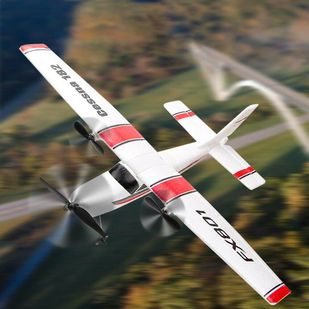 RC Airplane 2.4GHz 2 Channels Remote Control Aircraft 3-Axis Gyro - Shoplexcity