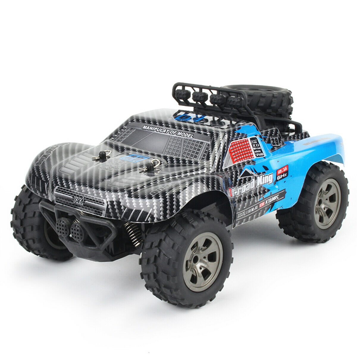 TRUCKZI RC Monster Truck 2.4 Ghz High Speed Remote Control Off-Road - Shoplexcity