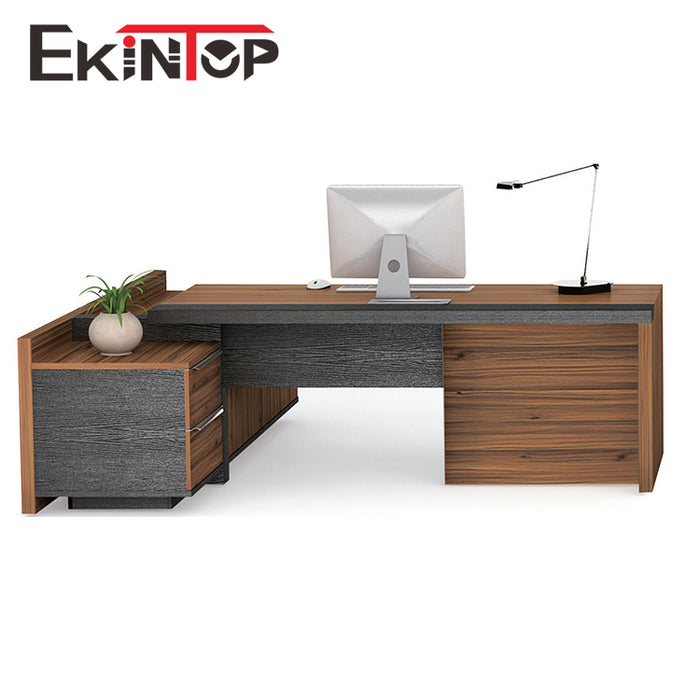 wooden l shaped office desk. Modern Office Furniture Desk High Tech Executive L Shaped Wooden W