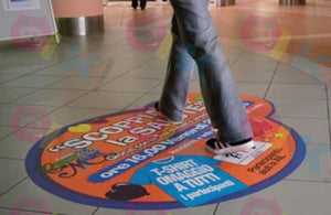 Adhesivo Floor Graphics Impresión Digital