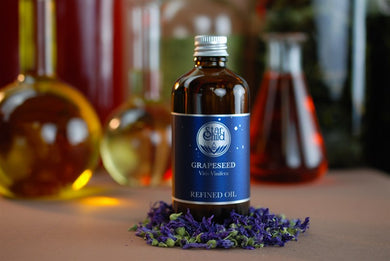 Grapeseed Oil By Star Child Glastonbury