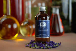 Sesame Seed Oil Organic By Star Child Glastonbury