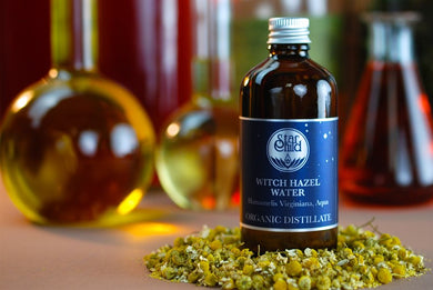 Witch Hazel Water Organic By Star Child Glastonbury